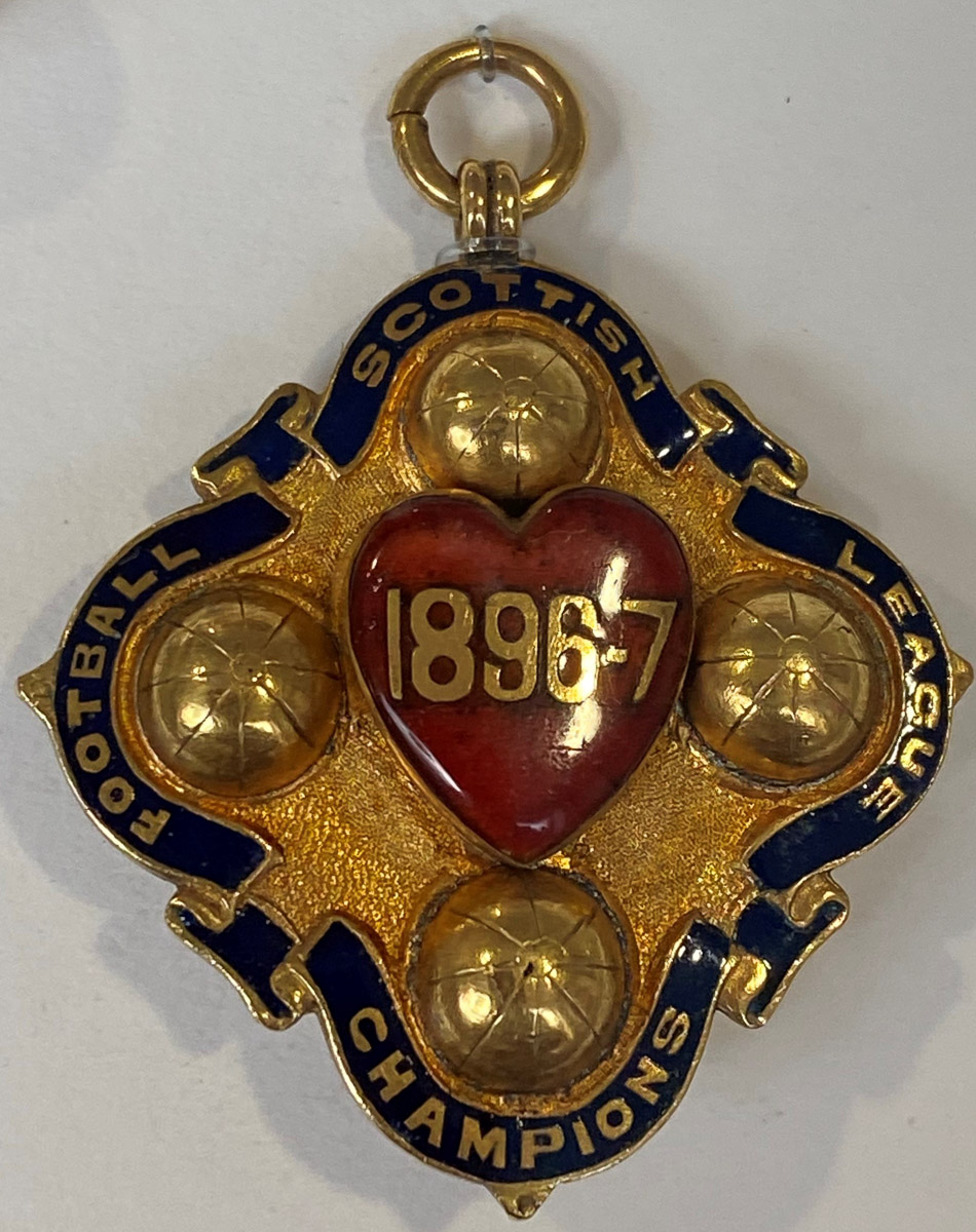 1896-97 League Champions Medal of Bob McCartney