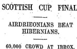 Scottish Cup Finals
